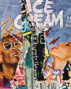 ICE CREAM - Montpellier - Ready-Made - 2017 - @DOM(K) Montpellier, Ice Cream, Movie Posters, Movies, Sherbet Ice Cream, 2016 Movies, Film Poster, Films, Popcorn Posters