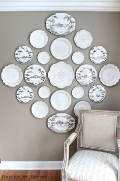 Decorative Plates Cute Wall Decoration Sofa Ideas And Make Photo Gallery Wall Decor Plates. Decorative Plates Cute Wall Decoration Sofa Ideas And Make Photo Gallery Wall Decor Plates - Best Home Decoration Tips Hanging Plates, Decor, Driven By Decor, Decorative Plates, Wall Decor, Plates On Wall, Interior, Dining Room Decor, Dining Room Walls