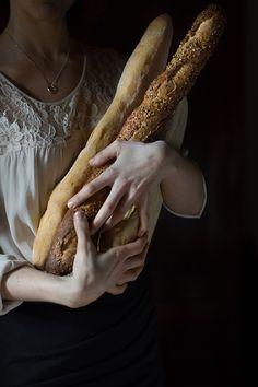 ♔ Fresh baked bread