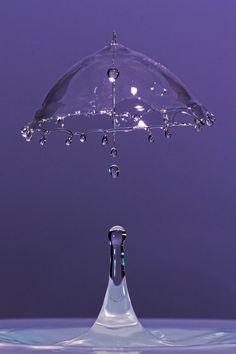 Water Umbrella Paraguas de agua.