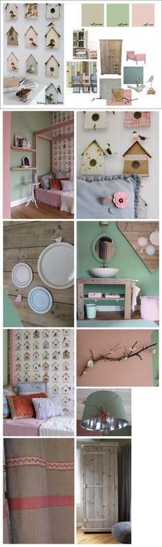 Pastel kinderkamer by Kinderkamerstylist Girl Nursery, Girl Room, Girls Bedroom, Pictures Above Bed, Daughters Room, Kids Decor, Home Decor, Kidsroom, Home And Living