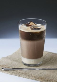 Delight in your love of chocolate and coffee with this sinfully sweet iced coffee recipe. The bold flavor of Nespresso Espresso combines perfectly with sweet Cailler Le Chocolat and creamy condensed milk for a truly indulgent treat.