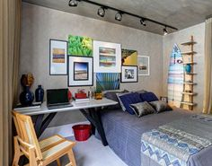 ASSIM EU GOSTO - blog de decoração | arquitetura Ideias para decorar as paredes com composição de quadros.