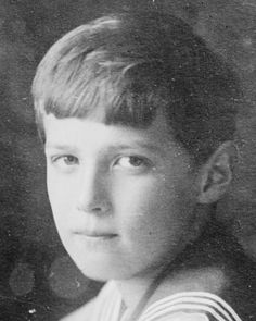 Tsarevich Alexei Nikolaevich of Russia, 1913. #Russian #history #Romanov