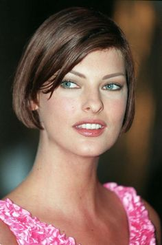 """Canadian model Linda Evangelista famously said she didn't """"wake up for less than $10,000"""" during the height of her fame. Here she is in 1995, age 29. Photo: AFP/Getty Images"""