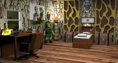 Legend Of Zelda  Themed Childrenu0027s Bedroom By Mallory Monick On DeviantART
