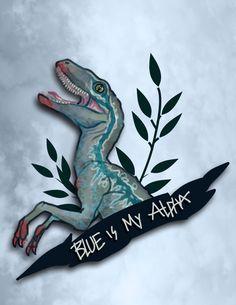 Blue Jurassic World, Jurassic World Fallen Kingdom, Michael Crichton, Jurassic Movies, Dino Park, Falling Kingdoms, Dinosaur Art, Prehistoric Creatures, Comic Book Artists