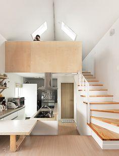 20평대 협소 주택 대전 해원이네 : 다섯 가족의 멀티플레이 하우스 : 이미지 크게보기