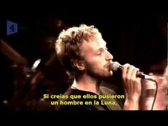 R.E.M. & Chris Martin - Man On The Moon Subtitulada Español