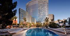 Pool at the ARIA Hotel - Las Vegas