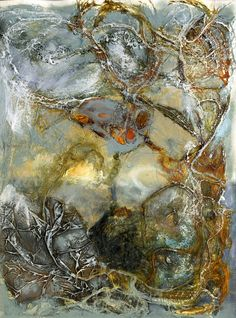 Mixed Media Collage - Julie Shackson                     Artist