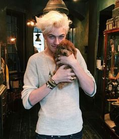 Lucky Blue Smith - Oh look at my prince being adorable.
