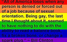 bill clinton lgbt rainbow flag