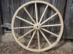 I would love to get some wagon wheels for decorating my yard.  The rustic country look is one of my favorites.  I have also seen a lot of DIY projects involving these wheels that look like they would be a lot of fun.