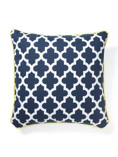 New Moroccan Pillow by RoomService  $75.  Just bought two of these for my beach house!