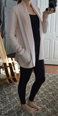 RD Style - Colton Marled Knit Cardigan - Stitch Fix Review - January 2016