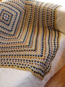 """Granny Square - These colors just say """"Jess""""...lol"""
