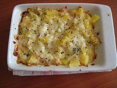 Zapečený květák s brambůrkem pro batolata Czech Recipes, Ethnic Recipes, Mashed Potatoes, Macaroni And Cheese, Healthy Recipes, Healthy Food, Food And Drink, Menu, Vegetables