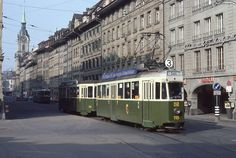 Trams de Berne (Suisse) | Photo: Trams aux Fils. (Interdicti… | Flickr Swiss Railways, Light Rail, Transportation, Cable, Photos, Street View, Train, Lisbon, Switzerland
