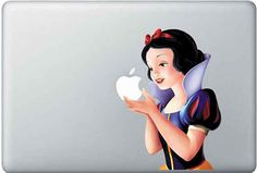 Snow White Macbook decal | The 33 Best Geeky Things To Buy On Etsy