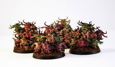 Hive Zero: Speed Painting Nurglings (+ a little ranting)