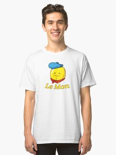 French Lemon Le Mon Classic Tshirt funny like sharkasm or seal of approval tee shirt