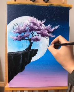 Love Canvas Painting, Easy Canvas Art, Canvas Painting Tutorials, Art Painting Gallery, Small Canvas Art, Painting Tips, Diy Canvas, Creative Painting Ideas, Simple Canvas Paintings