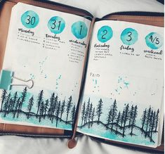 Amazing Winter Bullet Journal Theme Ideas To Try This Season Get inspired for your winter bullet journal. Find January bullet journal themes, December bullet journal, winter collections for your bujo & winter doodles. Bullet Journal Planner, December Bullet Journal, Bullet Journal Ideas Pages, Bullet Journal Inspo, Bullet Journal Spread, Bullet Journal Layout, Bullet Journal Numbers, Journal Inspiration, Layout Inspiration