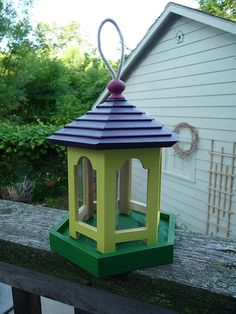 Bird House Feeder | Flickr - Photo Sharing! What a fantastic add-on to any garden! Click for more bird house and feeder selections.