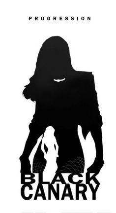 Progression - Black Canary by Steve Garcia