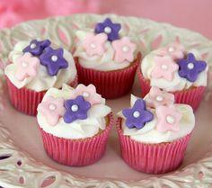 Petite Princess Cupcakes