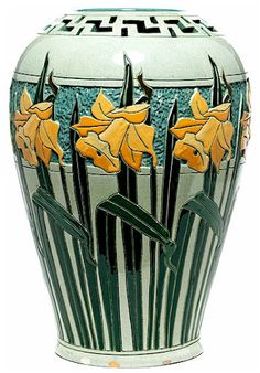 Roseville Della Robia Vase...Outstanding! I really wish. I will keep looking. And saving up.
