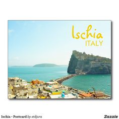 Shop Ischia - Postcard created by stdjura. Souvenirs From Italy, Old Town, Old Things, Castle, Europe, Photography, Photograph, Fotografie, Fotografia