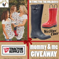 Win a pair of childrens and womens rain boots and... IFTTT reddit giveaways freebies contests
