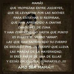 Dia de las madres Son Quotes From Mom, Mom Quotes, Quotes To Live By, Life Quotes, I Love Mom, Mothers Love, Power Of The Tongue, Quotes About Motherhood, Speak Life