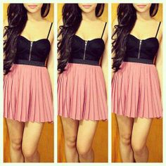 black & pink !