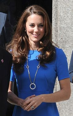 Kate wearing Cartier necklace