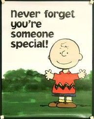 A little Charlie Brown wisdom