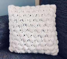 Bubble Stitch Cushio