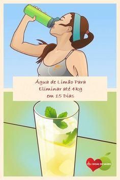 Água de Limão Para Eliminar até 4kg em 15 Dias!  #saúde  #natureza  #fitness  #saudável  #perderpeso