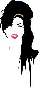 Amy Winehouse by @gustavorezende, Amy Winehouse.