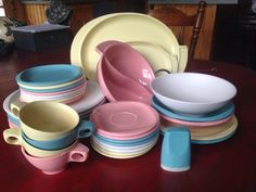 Hey, I found this really awesome Etsy listing at https://www.etsy.com/listing/386495708/boontonware-melmac-36-pc-dinnerware-set