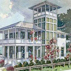 Shoreline Lookout - Top 25 House Plans - Coastal Living