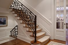 Staircase - traditional - staircase - toronto - by Peter A. Sellar - Architectural Photographer