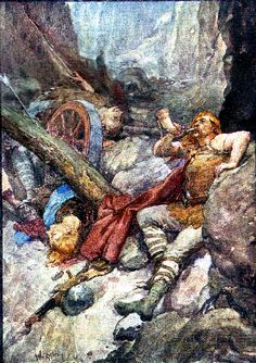 Once more Roland blew his ivory horn - in Story of France