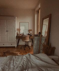 Image about cute in Architecture / Home / Interior Design by Lucian Dream Rooms, Dream Bedroom, Home Bedroom, Bedroom Decor, Bedrooms, Aesthetic Room Decor, Bedroom Inspo, Bedroom Ideas, My New Room