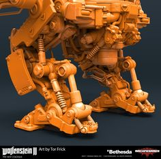ArtStation - Wolfenstein 2: Zitadelle Clay renders, Tor Frick