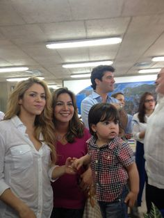 La fundadora de Pies Descalzos, Shakira.