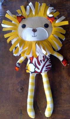 Larry the Lion by Janet C (AU) | by Dolls And Daydreams