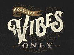 Positive Vibe Only by Ilham Herry